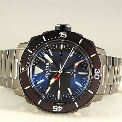 Alpina Seastrong Diver GMT Date ref. AL-247LGG4TV6B