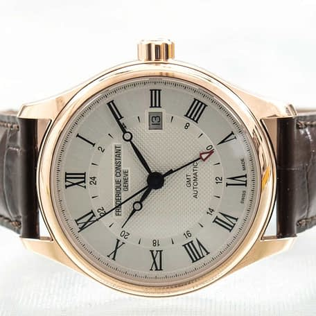 Frederique Constant Classics Automatic GMT Date Men's Watch ref. FC-350MC5B4