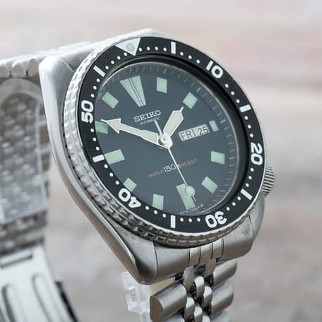 Seiko 6309-7290 Black SS
