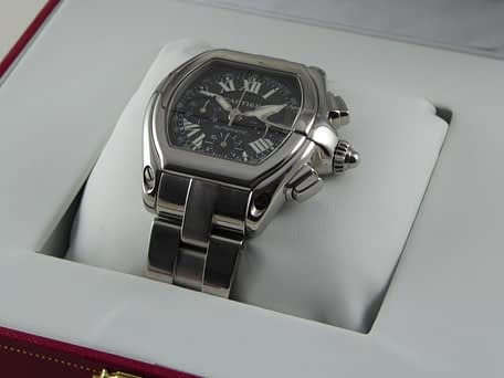 Cartier Roadster XL Chronograph Black 2618