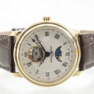 Frederique Constant Classic Heartbeat Moonphase Date Watch ref. FC-335MC4P5