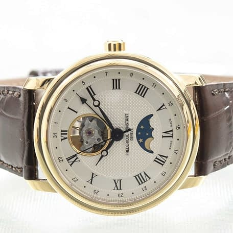 Frederique Constant Classic Heartbeat Moonphase Date Watch ref. FC-335MC4P5