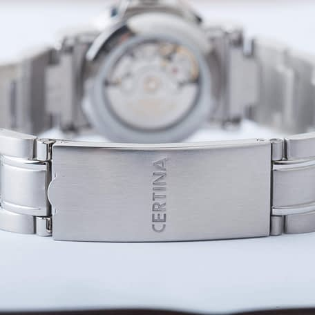 Certina DS Caimano Automatic Date Black Dial Ladies Watch C0172071105700