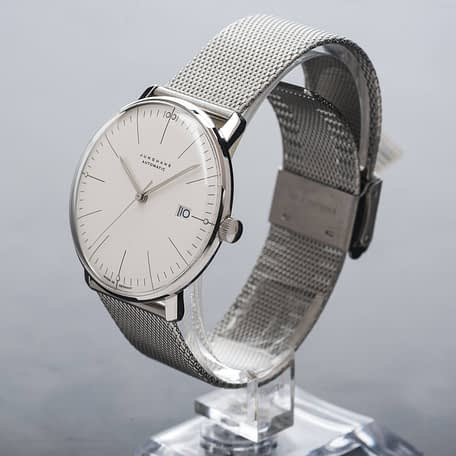 Junghans Max Bill Automatic Silver Dial Date Stainless Steel watch 027/4002.44