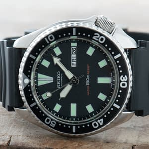 Seiko 6309-7290 Divers Watch Men Vintage