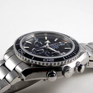 Omega Seamaster Planet Ocean Chronograph 45 mm Full Set Bracelet watch 2210.50