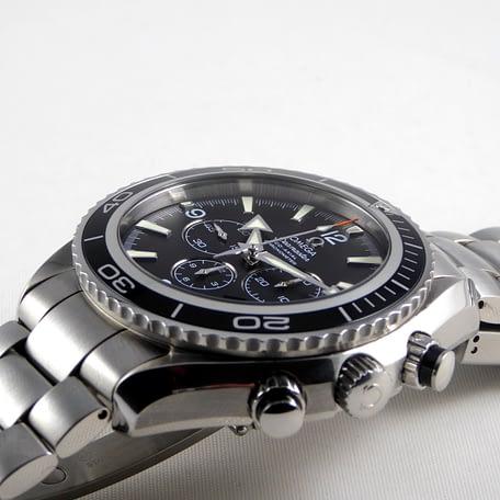 Omega Seamaster Planet Ocean Chronograph 45 mm Full Set Bracelet watch 2210.50