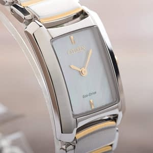 Citizen Eco-Drive Euphoria Mother Pearl Stainless Steel Ladies Watch EG2974-52D