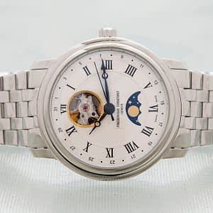 Frederique Constant Classic Heartbeat Moonphase Date Watch ref. FC-335MC4P6B2