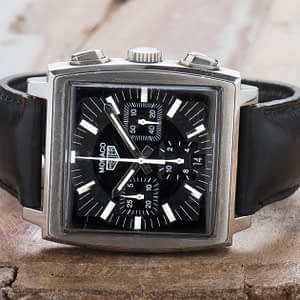 Tag Heuer Monaco Re-Edition Steve Mcqueen Chronograph Date Swiss ref. CS2111