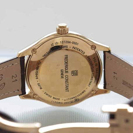 Frederique Constant Horological Smartwatch tracking Sleep Date FC-285MC5B4
