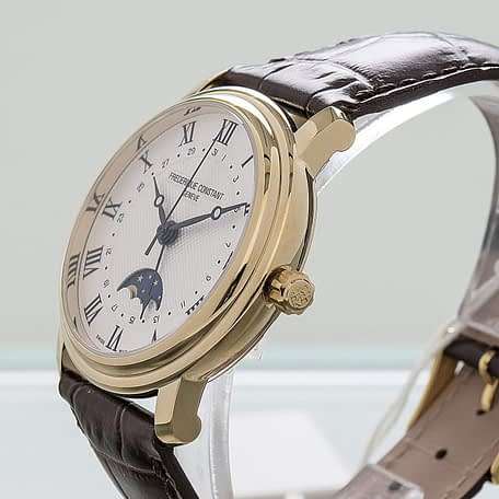 Frederique Constant Classics Moonphase Date Automatic Watch ref. FC-330MC4P5