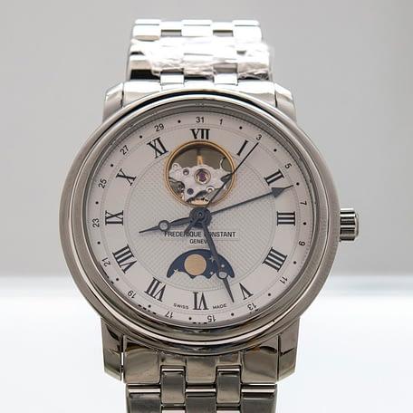Frederique Constant Classic Heartbeat Moonphase Date Watch ref. FC-335MC4P6B2
