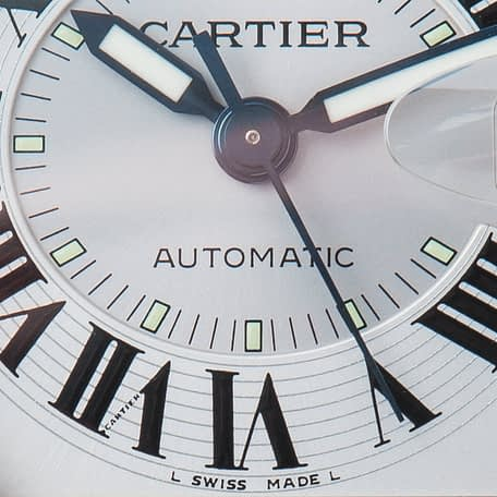 Cartier Roadster Automatic Stainless steel Date Ref. 2510