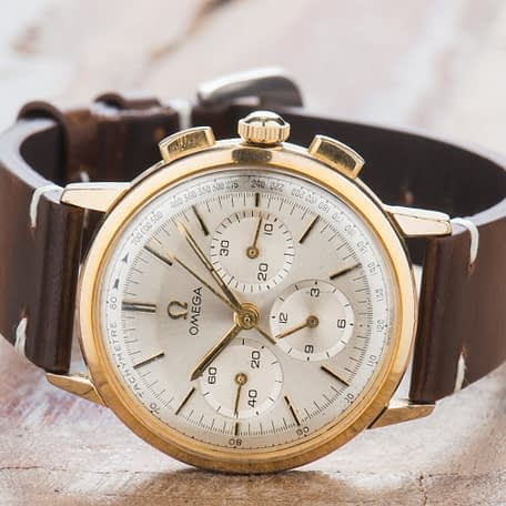 Omega cal. 321 Chronograph Vintage 1963 Ref. 101.010-63 Watch Manual Serviced