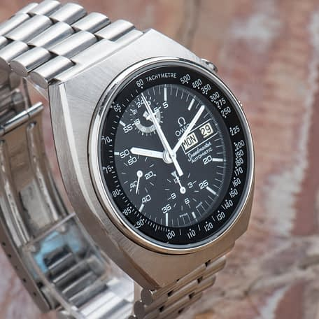 Omega Speedmaster Mark 4.5 Cal. 1045 Ref. 176.0012 Serviced Papers 1979